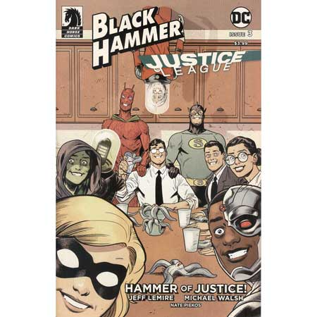 Black Hammer Justice League #3 Cover E Shaner