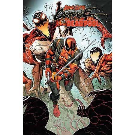 Absolute Carnage Vs Deadpool #2 Connecting Variant