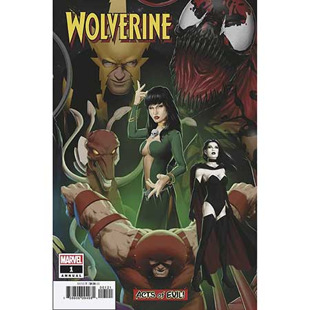 Wolverine Annual #1 Christopher Connecting Variant