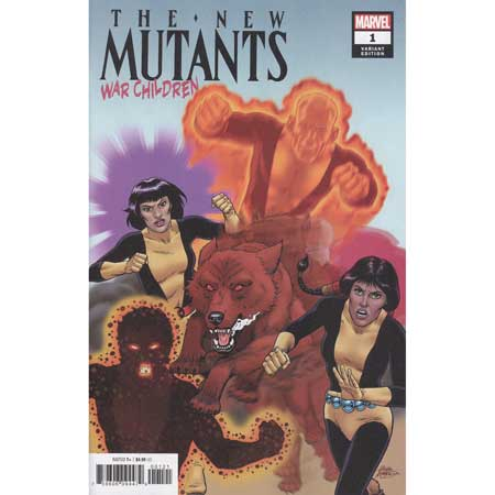New Mutants War Children #1 Mcleod Variant