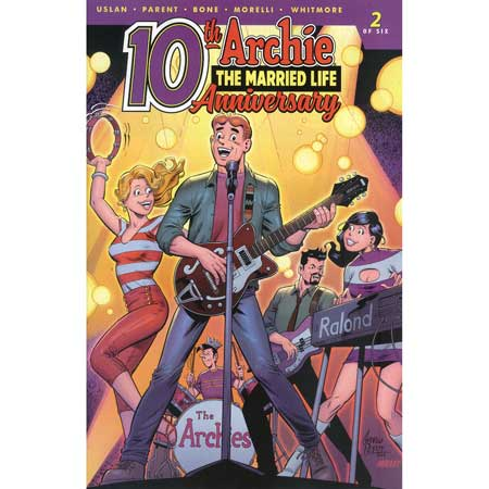 Archie Married Life 10 Years Later #2 Cover C Pepoy