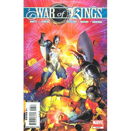War Of Kings #6
