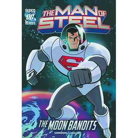 DC Super Heroes Man Of Steel Superman Vs Moon Bandits