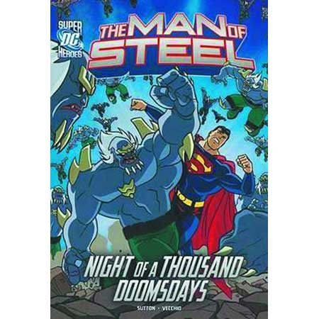 DC Super Heroes Man Of Steel Superman Vs Doomsday Army