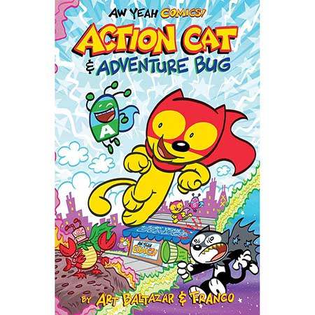 Aw Yeah Comics Action Cat And Adventure Bug