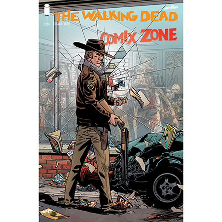 Walking Dead #1 15Th Anniversary Comix Zone Exclusive Variant