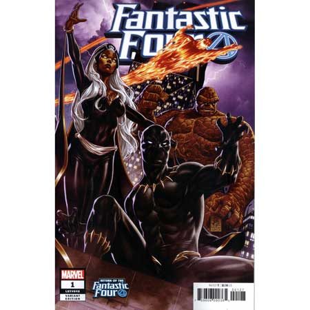 Fantastic Four #1 Brooks Return Of Fantastic Four Variant