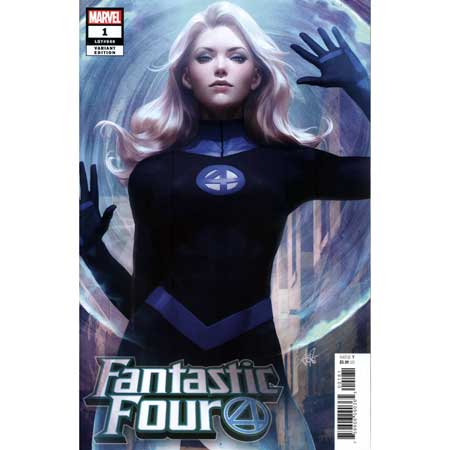 Fantastic Four #1 Artgerm Invisible Woman Variant