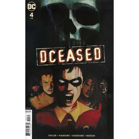 DCeased #4 Card Stock Horror Variant