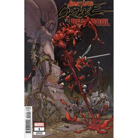 Absolute Carnage Vs Deadpool #1 Ferry Variant