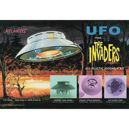 Invaders Ufo 1/72 Scale Model Kit