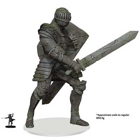 D&D Icons Realm Miniatures Walking Statue Waterdeep Knight