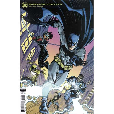 Batman And The Outsiders #15 Cully Hamner Variant