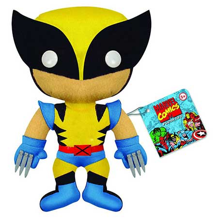 Marvel Comics Wolverine 7In Plush