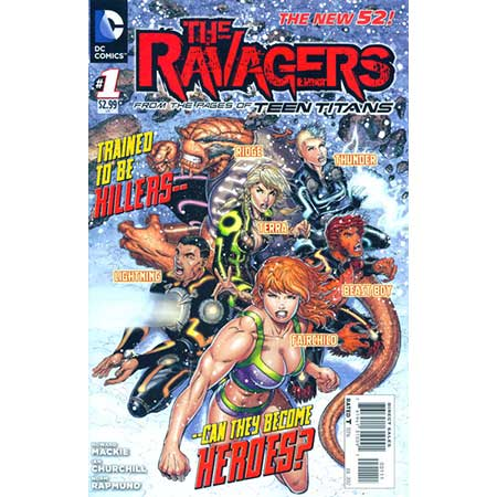 Ravagers #1