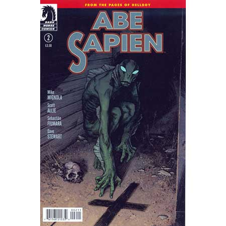 Abe Sapien Dark & Terrible #2