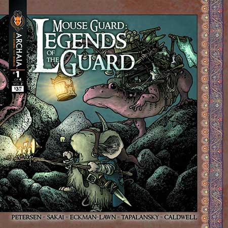 Mouse Guard Legends Of The Guard Vol 2 #1