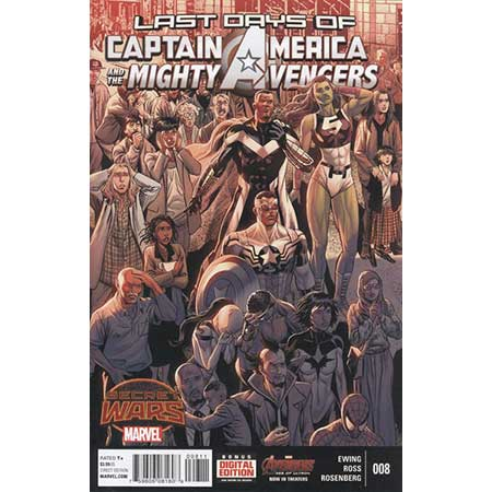 Captain America And Mighty Avengers #8