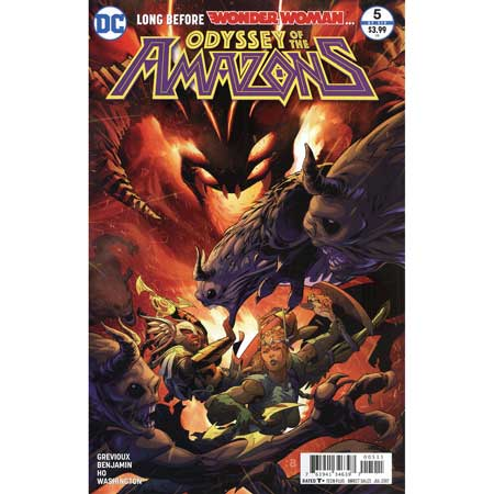 Odyssey Of The Amazons #5