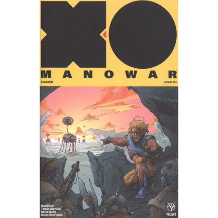 X-O Manowar #3 Cover B Rocafort