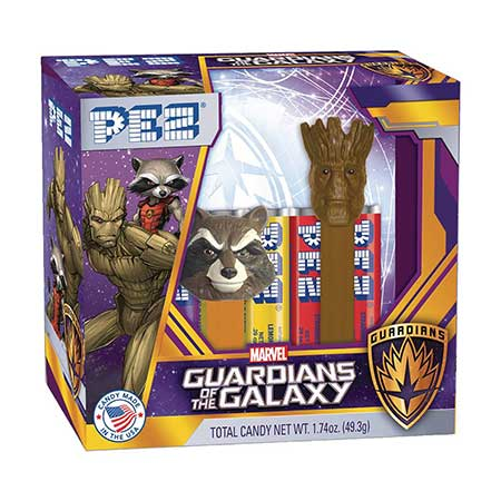 PEZ Guardians of the Galaxy Groot & Rocket Raccoon 2-Pack