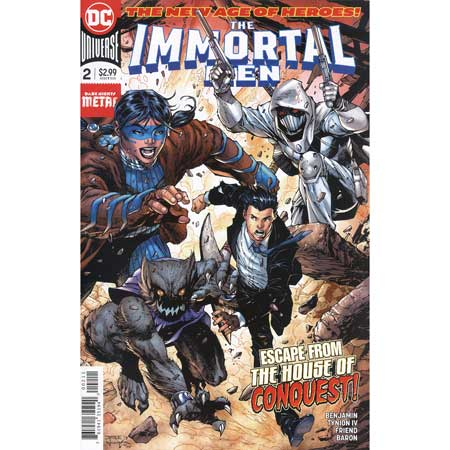 Immortal Men #2