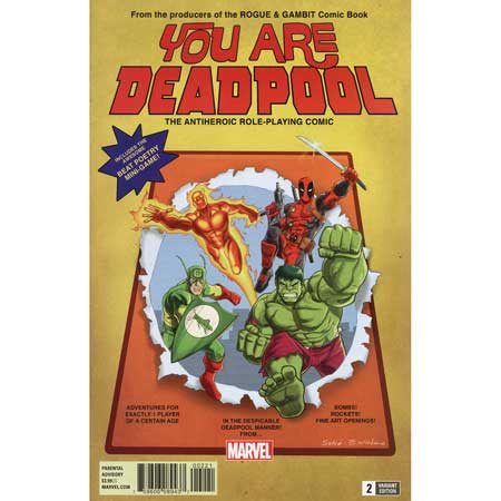 You Are Deadpool #2 Espin Rpg Variant