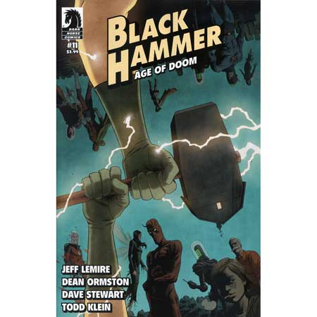 Black Hammer Age Of Doom #11 Cover B Rivera