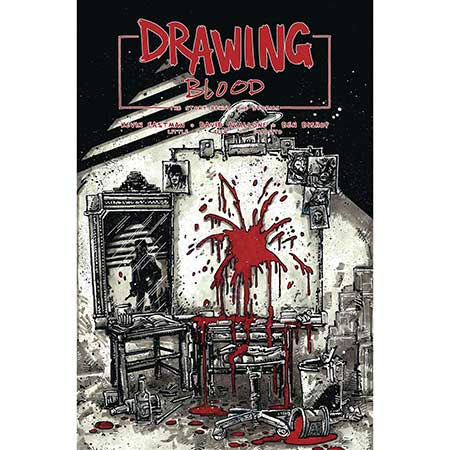 Drawing Blood Splilled Ink #1 Cover B Eastman