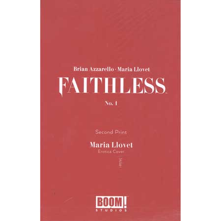 Faithless #1 2nd Ptg Cover B Erotica