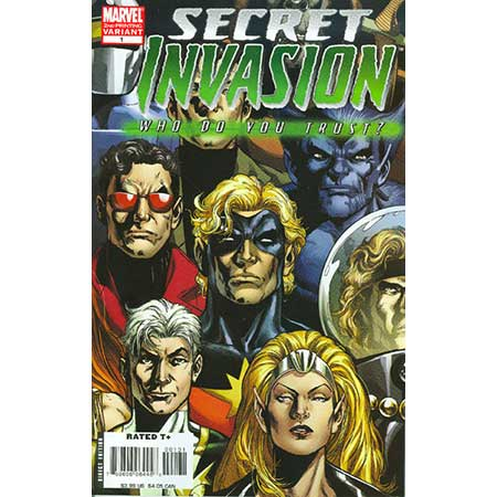 Secret Invasion Who Do You Trust 2Nd Ptg