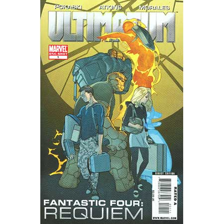 Ultimatum Fantastic Four Requiem #1