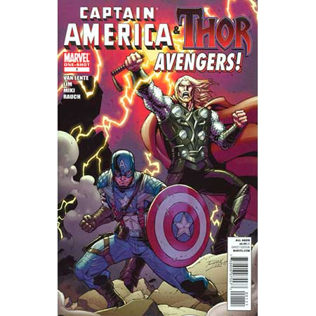 Cap And Thor Avengers #1