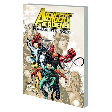 Avengers Academy Vol 1 Permanent Record