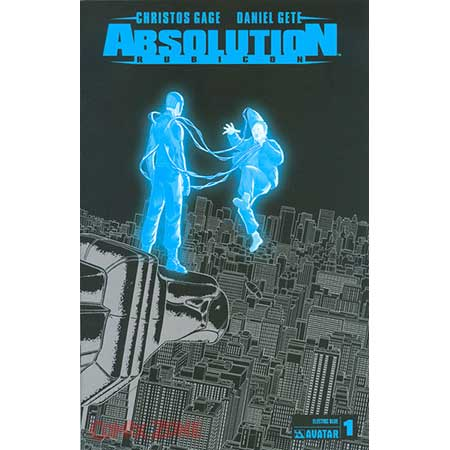 Absolution Rubicon #1 Electric Blue Var