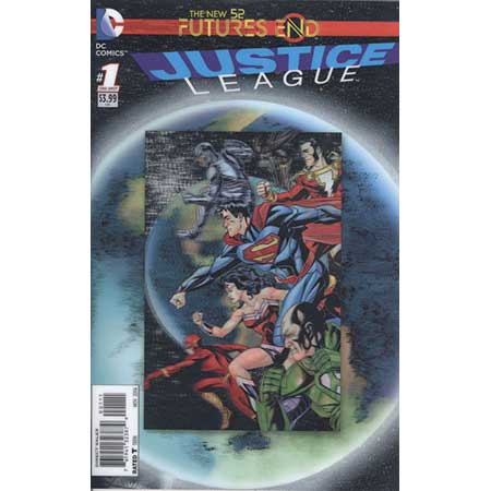 Justice League Futures End #1 3D Motion