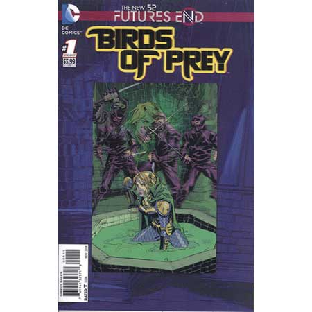 Birds Of Prey Futures End #1 3D Motion