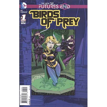Birds Of Prey Futures End #1 Standard Edition