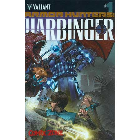 Armor Hunters Harbinger #1 Chrome Cover
