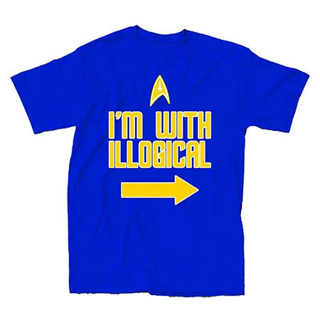 Star Trek Im With Illogical T-Shirt