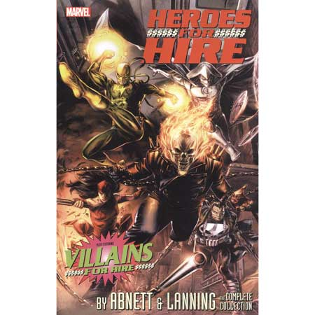 Heroes For Hire Abnett And Lanning Complete Collection
