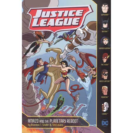 Justice League Amazo And Planetary Reboot