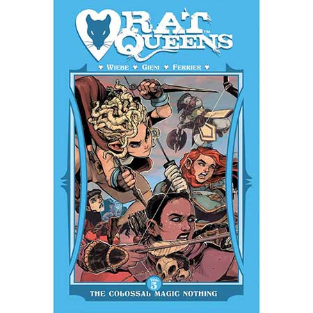 Rat Queens Vol 5 Colossal Magic Nothing