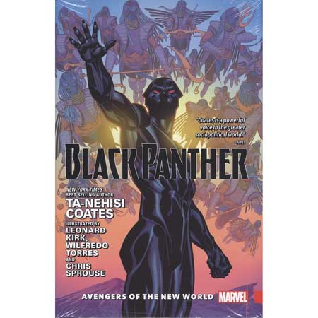 Black Panther Vol 2 Avengers Of New World