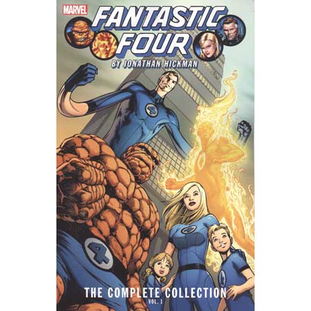 Fantastic Four By Hickman Complete Collection Vol 1