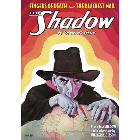 Shadow Double Novel Vol 132 Fingers Of Death & Blackiest Mail