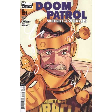 Doom Patrol Weight Of The Worlds #1 Variant