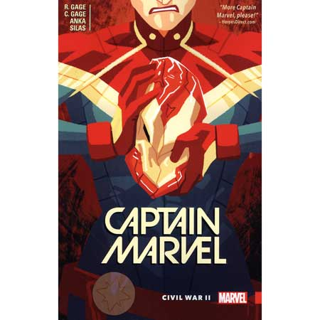 Captain Marvel Vol 2 Civil War II