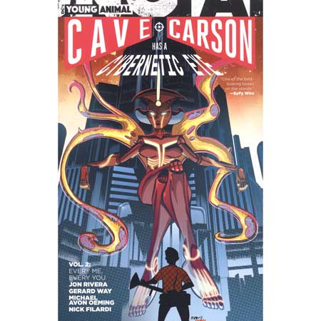 Cave Carson Has A Cybernetic Eye Vol 2