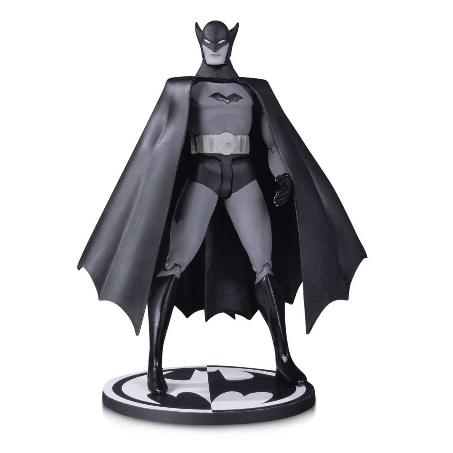 Batman Black And White Action Figure 1St Appearance Bob Kane